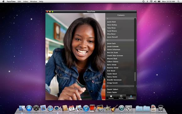 Mac FaceTime App