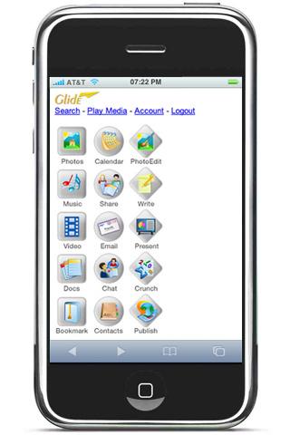 Glide iPhone App