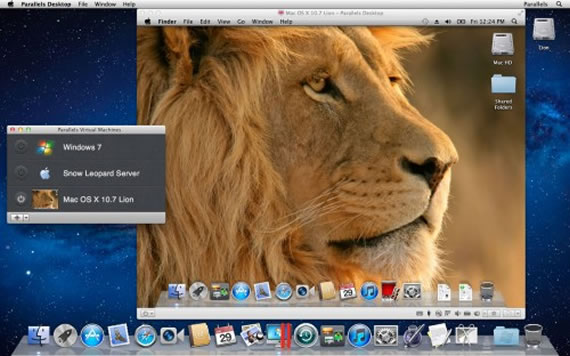 Parallels Desktop 7