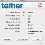 iTether Internet Connection Sharing App for iOS