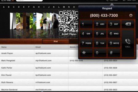 Toktumi announce Line2 HD call management hub for iPad