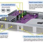 Sonnet Shipping Thunderbolt Equiped RackMac mini Xserver