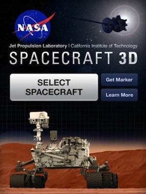 Spacecraft 3D app for iOS