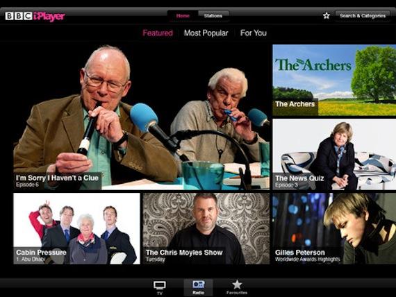 BBC iPlayer for iOS update