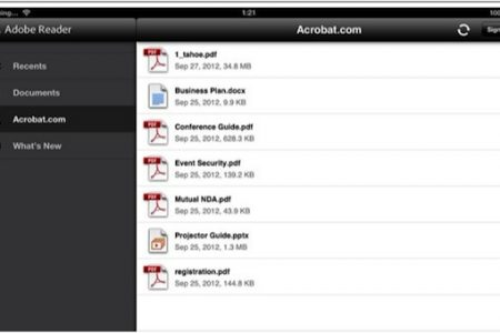 Adobe Reader for iOS and Android updated