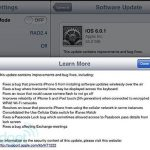 iOS 6.0.1 update released