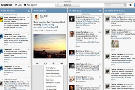 Tweetdeck update for Mac