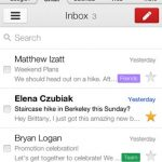 Updated Gmail for iOS