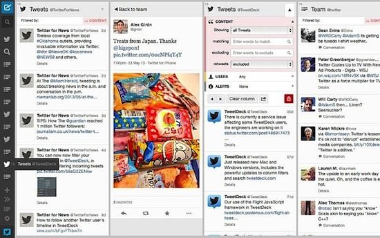 Tweetdeck for Mac update