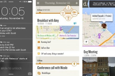 Donna iOS 7 personal assistant app