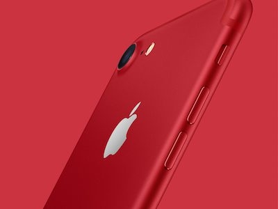 Apple Announces iPhone 7 & iPhone 7 Plus Red Special Edition